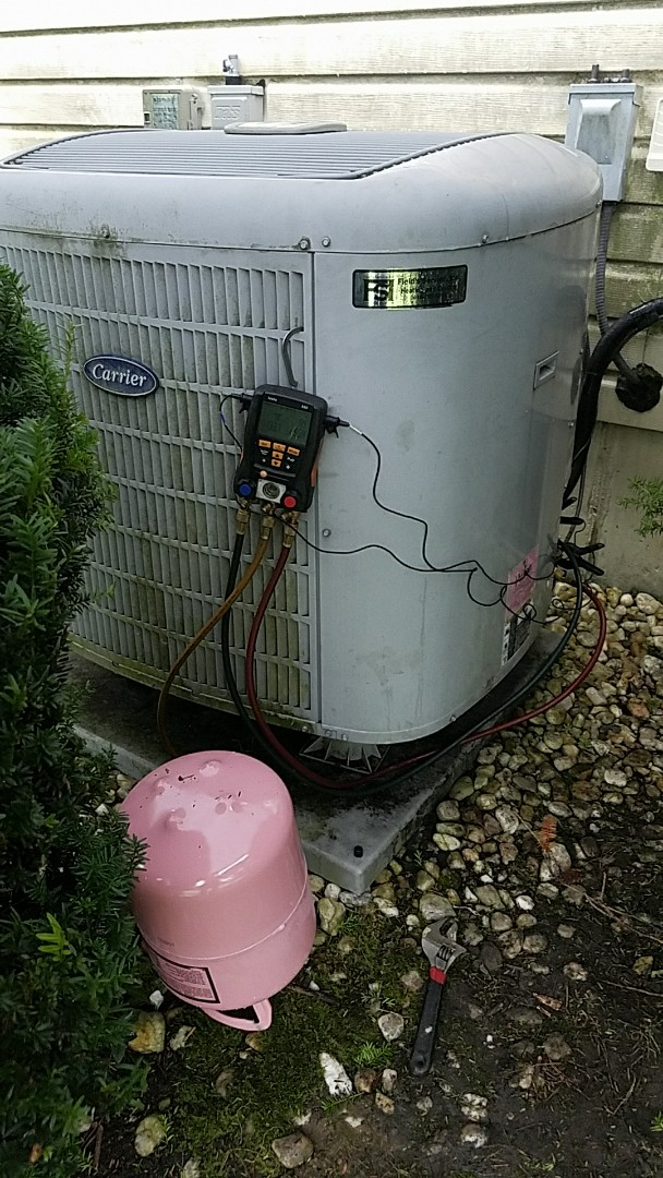 Easton, PA - Bad compressor replacement on Carrier heat pump