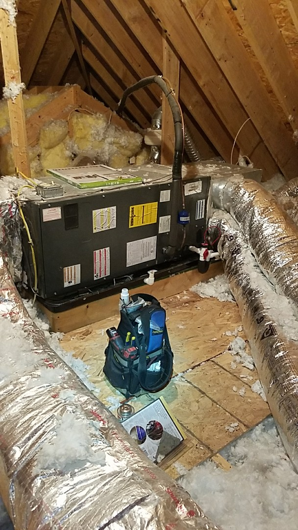 Pen Argyl, PA - Leaking evaporator coil replacement on Goodman