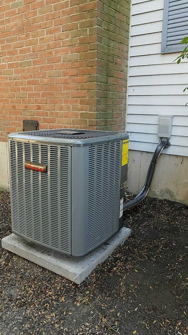 Bethlehem, PA - Central air conditioning system replacement
