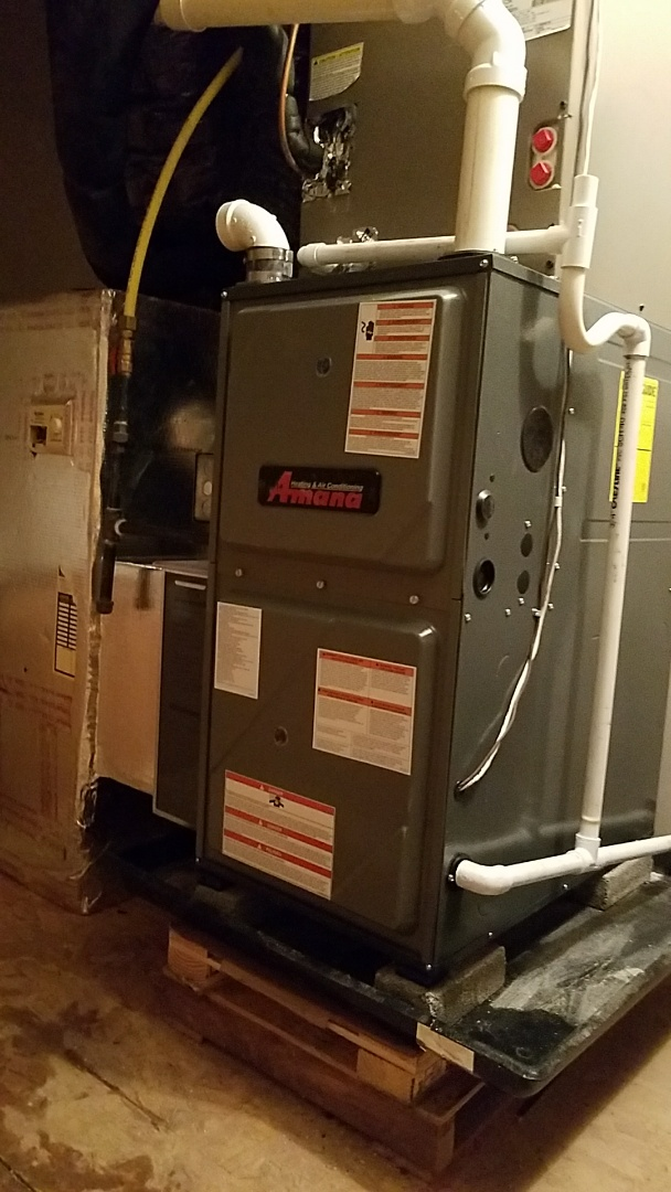 Easton, PA - Gas furnace replacement