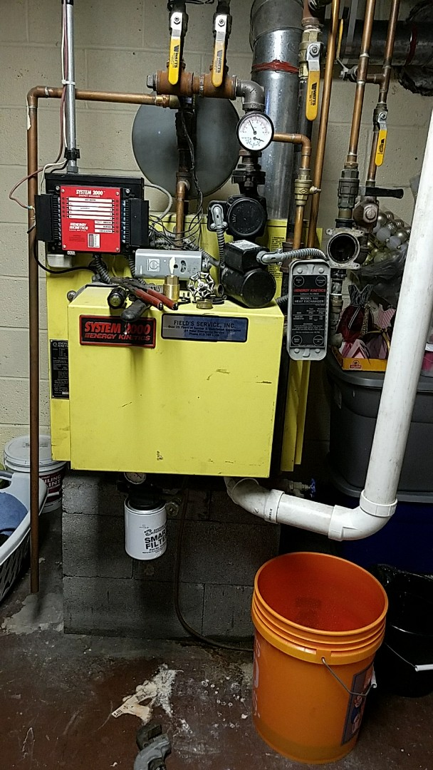 Pen Argyl, PA - Hot water pump is leaking water