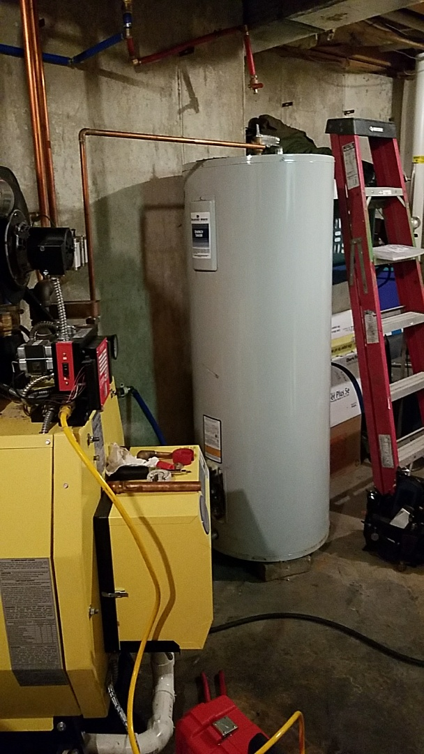 Bath, PA - Leaking water heater replacement