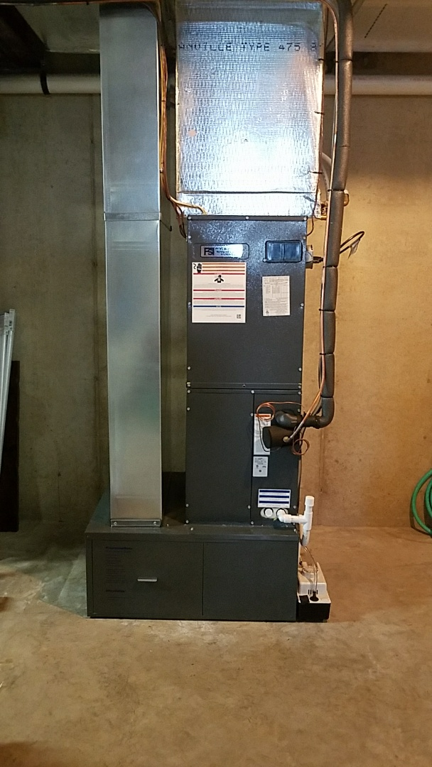 Nazareth, PA - Heat pump replacement