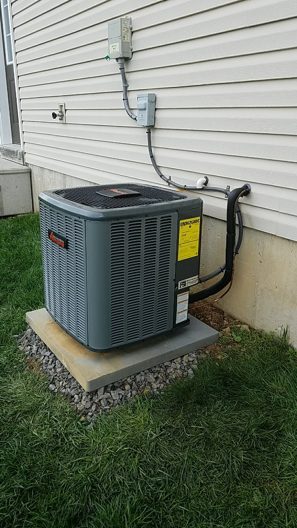 Easton, PA - Outdoor air conditioning unit replacement