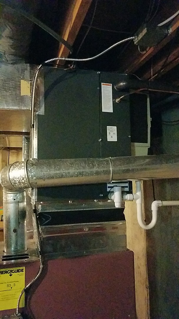 Easton, PA - Air conditioning system replacement