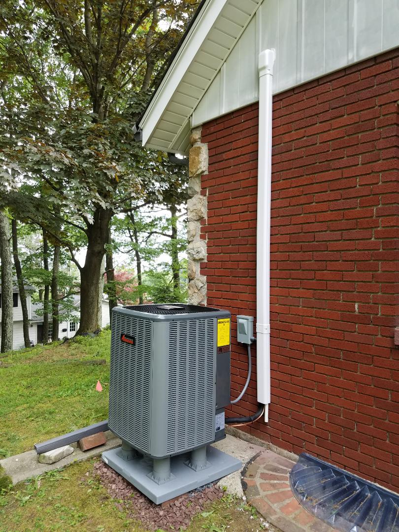 Pen Argyl, PA - Central air conditioning installation