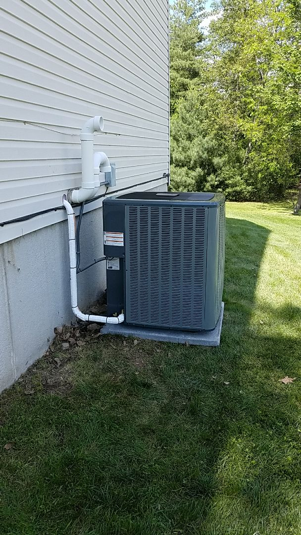 East Stroudsburg, PA - Air conditioning system replacement