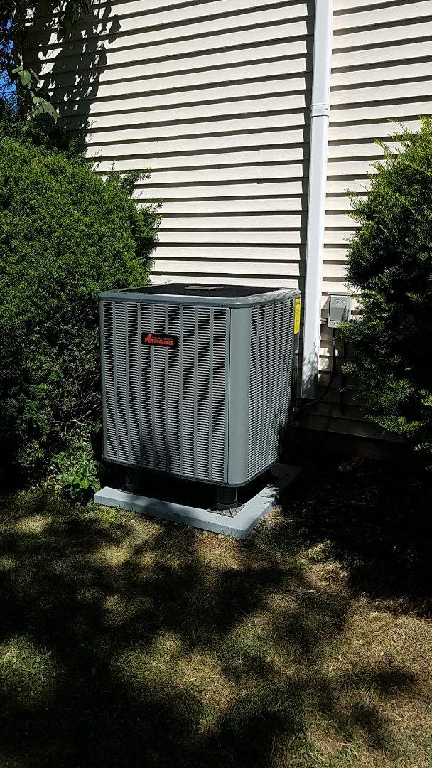 Nazareth, PA - Replacing outdoor heat pump