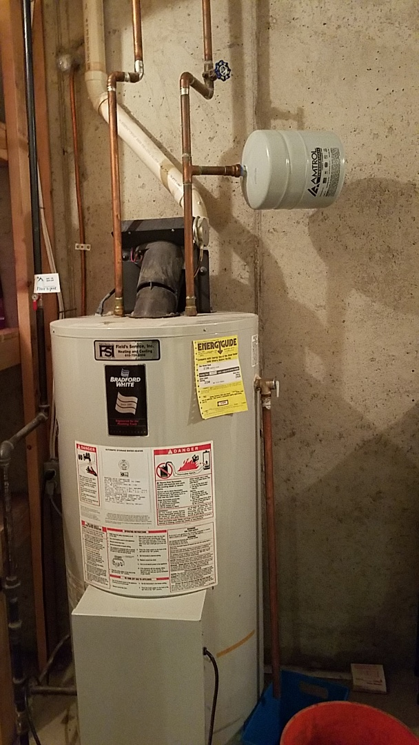 Easton, PA - Relief valve dripping on water heater
