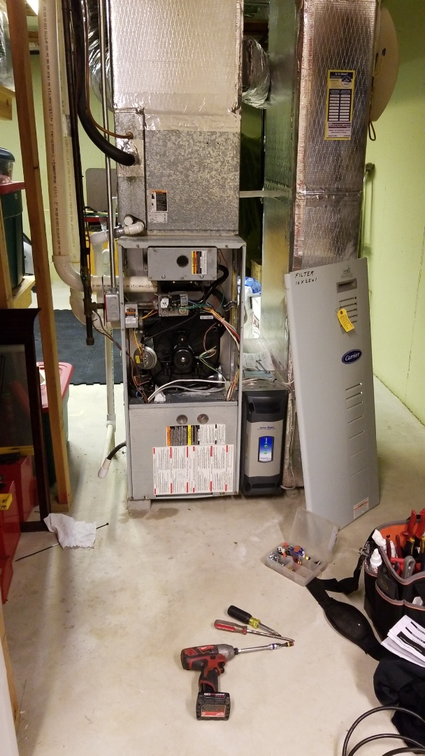 Allentown, PA - Heat exchanger replacement Carrier gas furnace