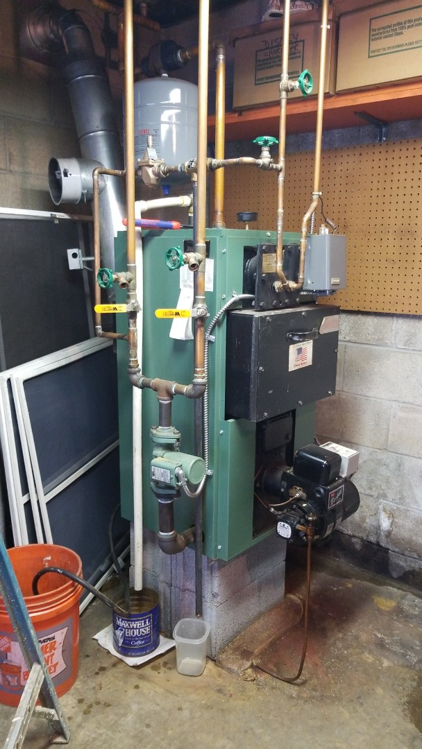 Nazareth, PA - New Yorker boiler is leaking water