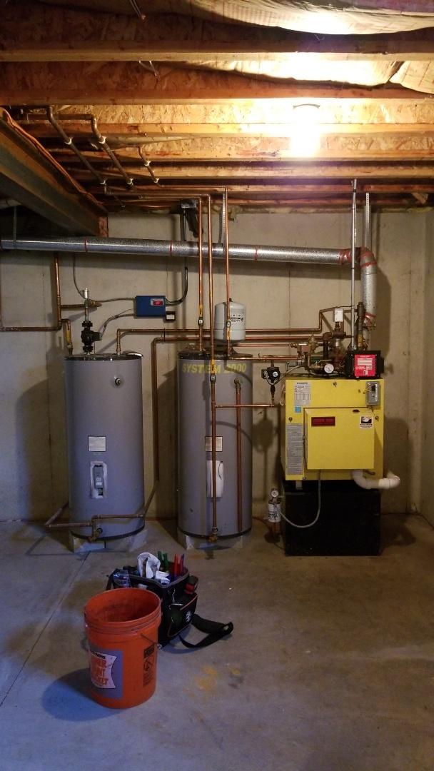 Nazareth, PA - System 2000 boiler repair