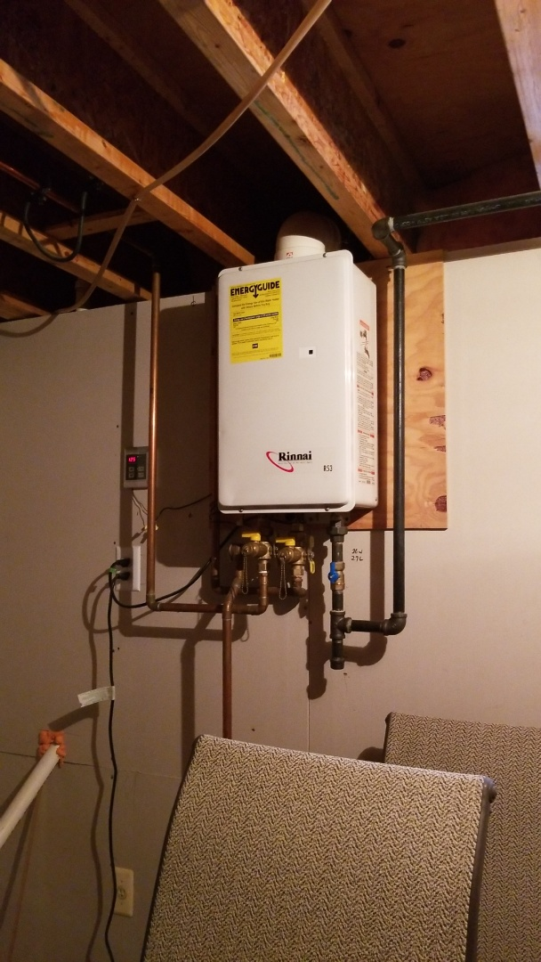 Easton, PA - Rinnai tankless water heater service