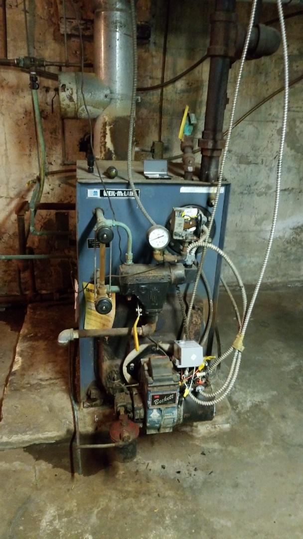 Pen Argyl, PA - Weil Mclain steam boiler repair