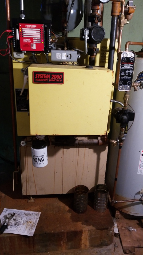 Bangor, PA - System 2000 boiler repairs and cleaning