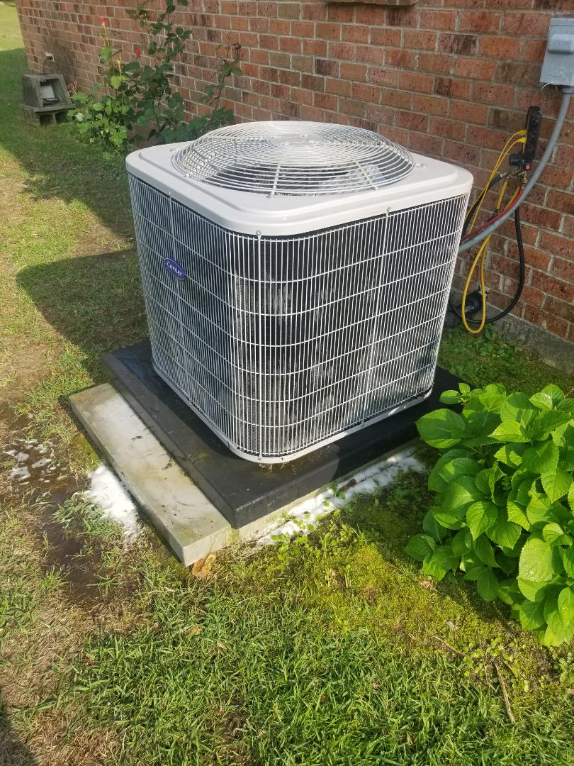 Hammond, LA - PERFORMED AC TUNE UP ON 2016 CARRIER SYSTEM IN THE HAMMOND AREA