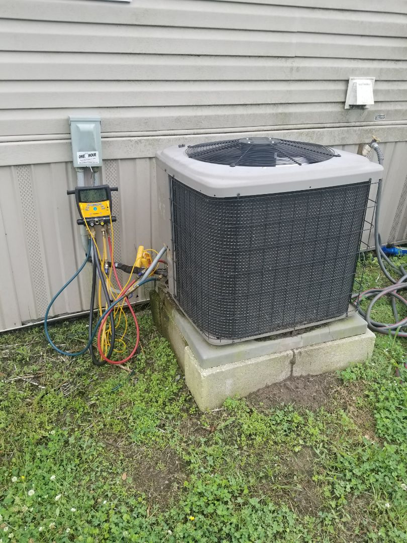 PERFORMED AC TUNE UP ON 2014 INDOOR TRAILER SYSTEM   IN ST GABRIEL AREA