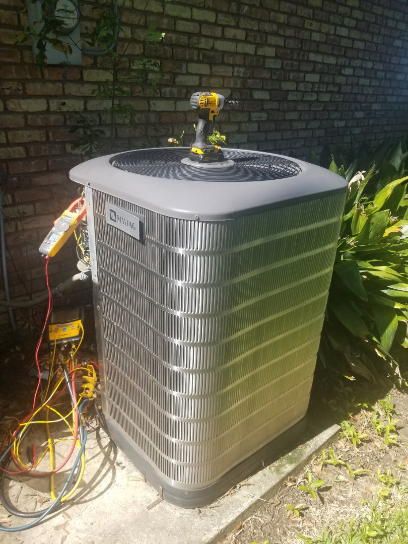 Gonzales, LA - PERFORMED AC TUNE ON 2009   410A MAYTAG SYSTEM IN THE GONZALEZ AREA