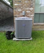 Baton Rouge, LA - Performed AC Tune-up recommend return air transfer (no price given). Resistance to airflow (static pressure) is very high. Recommend high airflow filter and change often. Unit is 2015, r410a.