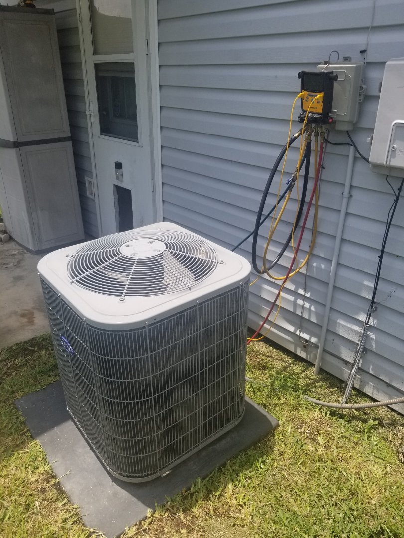 PERFORMED AC TUNE UP ON 2015 CARRIER SYSTEM IN THE BATON ROUGE AREA