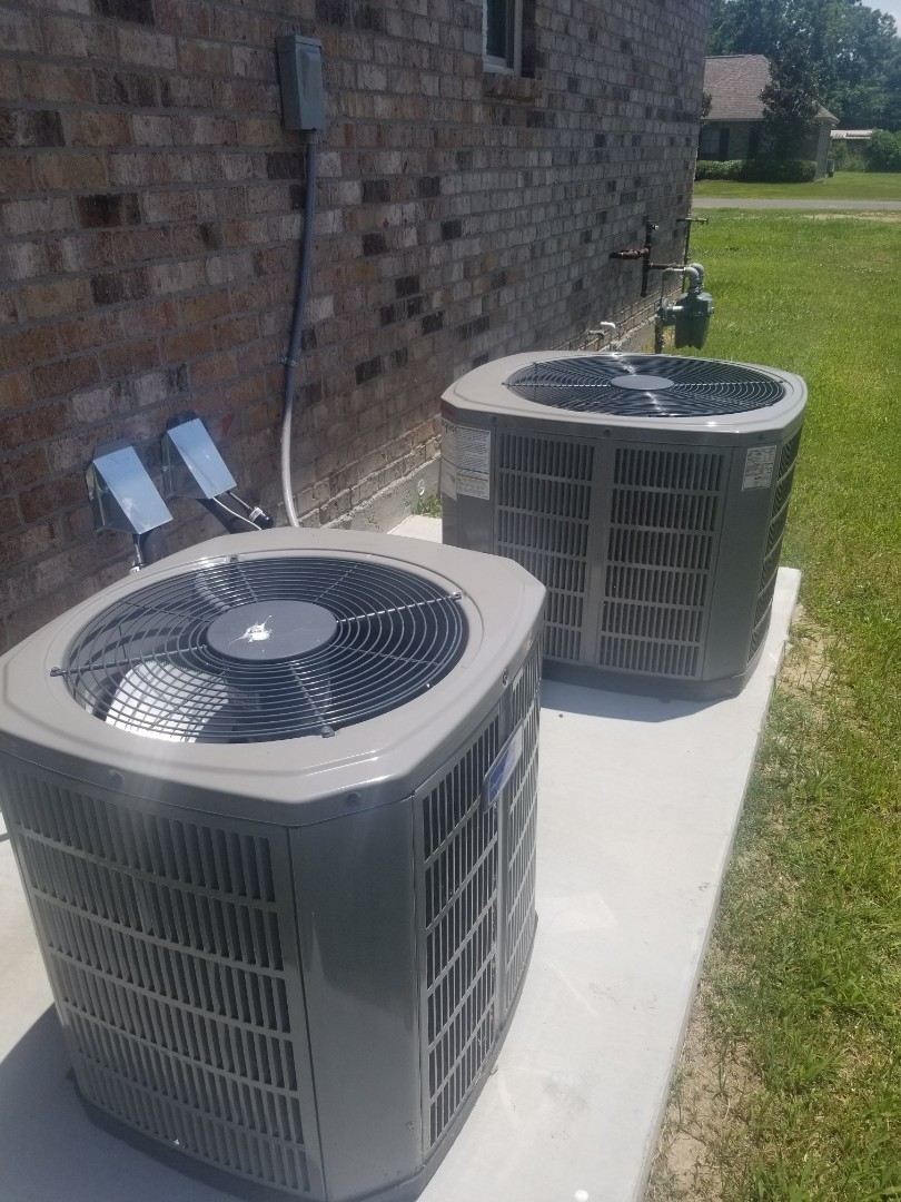 PERFORMED AC MAINTENANCE ON 2018 410A TRANE SYSTEM IN THE PORT ALLEN AREA