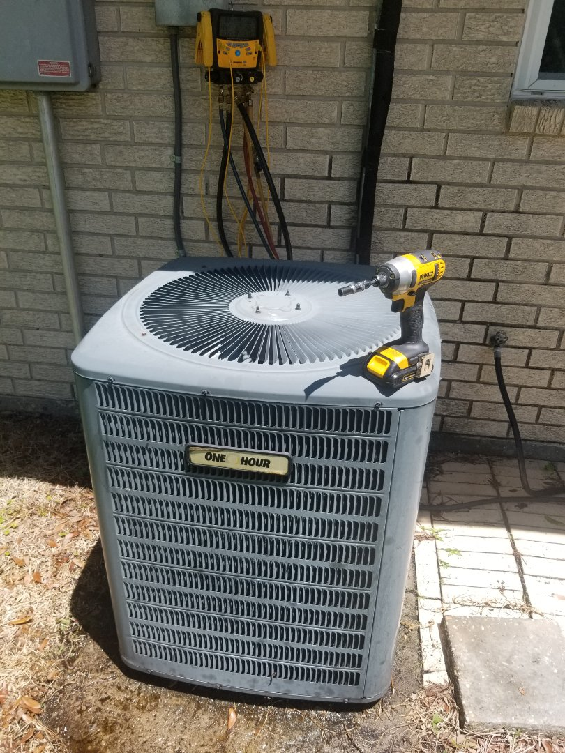 PERFORMED AC MAINTENANCE ON 2010 GOODMAN SYSTEM IN THE ADDIS AREA