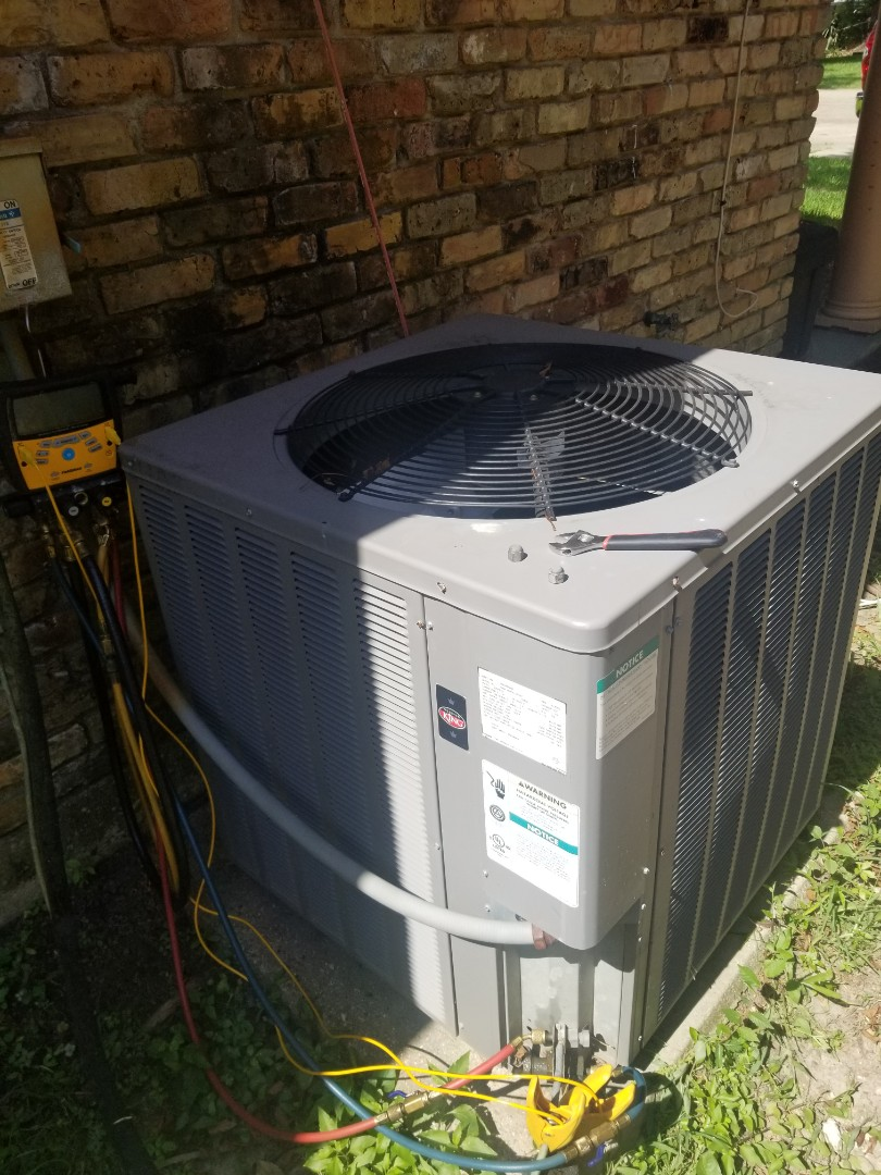 Prairieville, LA - PERFORMED AC MAINTENANCE ON A  2014 RHEEM SYSTEM IN THE BATON ROUGE AREA