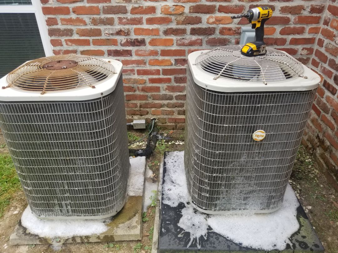 Baton Rouge, LA - PERFORMED AC MAINTENANCE ON 2010 410A PAYNE SYSTEM IN THE BATON ROUGE AREA