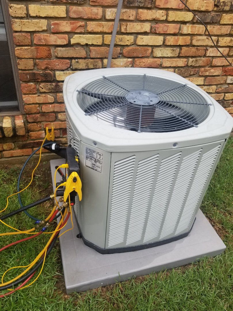 Baton Rouge, LA - PERFORMED AC MAINTENANCE ON 2014 TRANE SYSTEM IN THE BATON ROUGE AREA