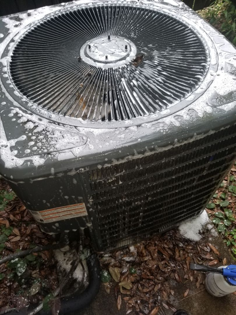 PERFORMED AC MAINTENANCE ON 2017 410A GOODMAN IN THE BATON ROUGE AREA