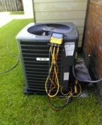 PERFORMED maintenance on a 1 year old 5ton gas furnace systems in Greenwell La