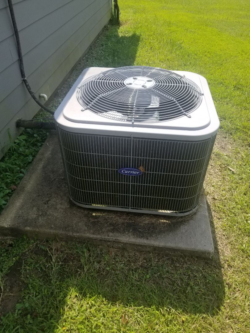 PERFORMED AC MAINTENANCE ON 2016  MULTI  CARRIER SYSTEM HOME IN THE GONZALES AREA