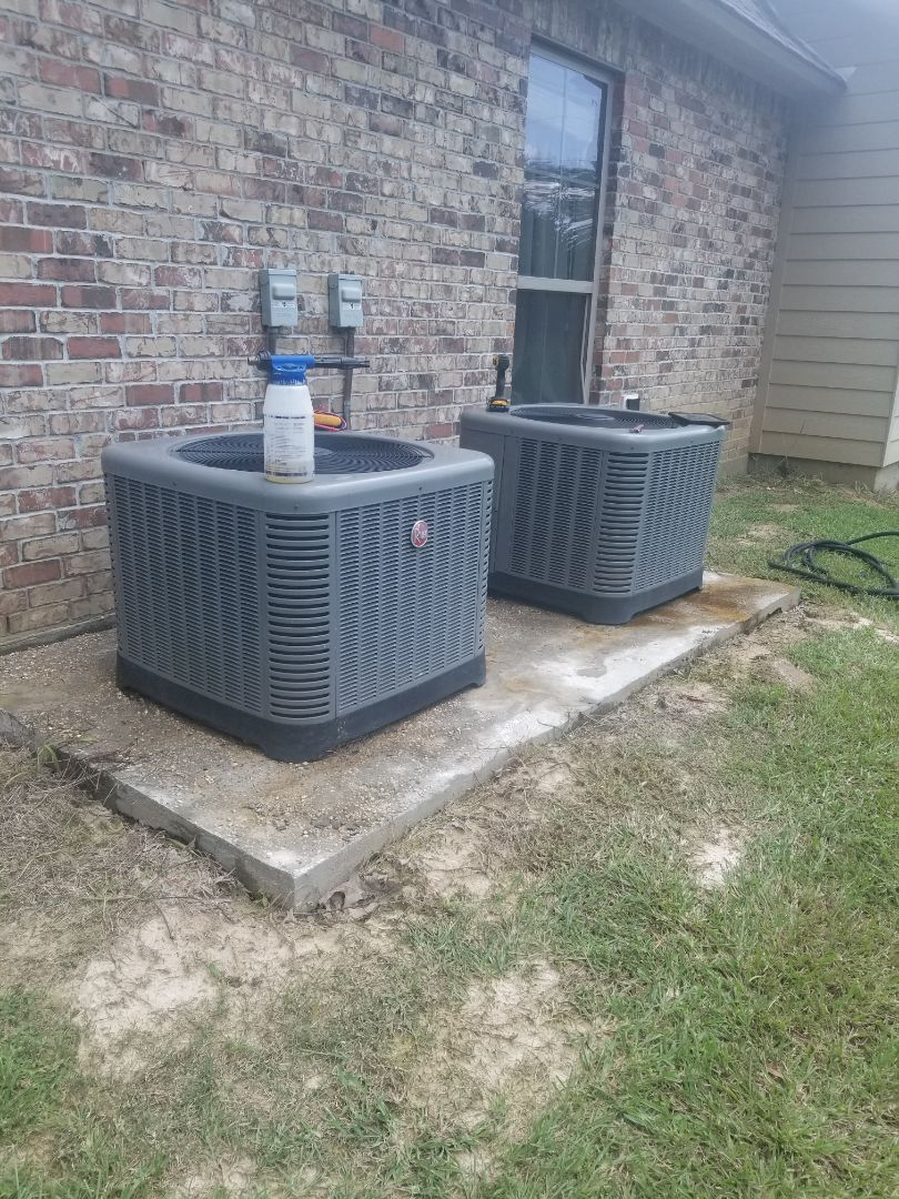 PERFORMED AC MAINTENANCE  ON 2014 RHEEM SYSTEM IN THE LIVINGSTON AREA