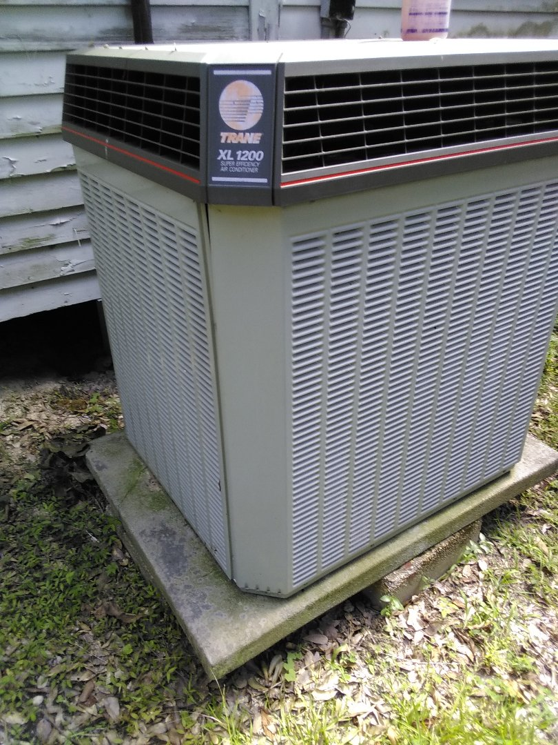 PERFORMED AC MAINTENANCE  ON 1996 R-22 TRANE SYSTEM  IN THE PLAQUEMINE AREA