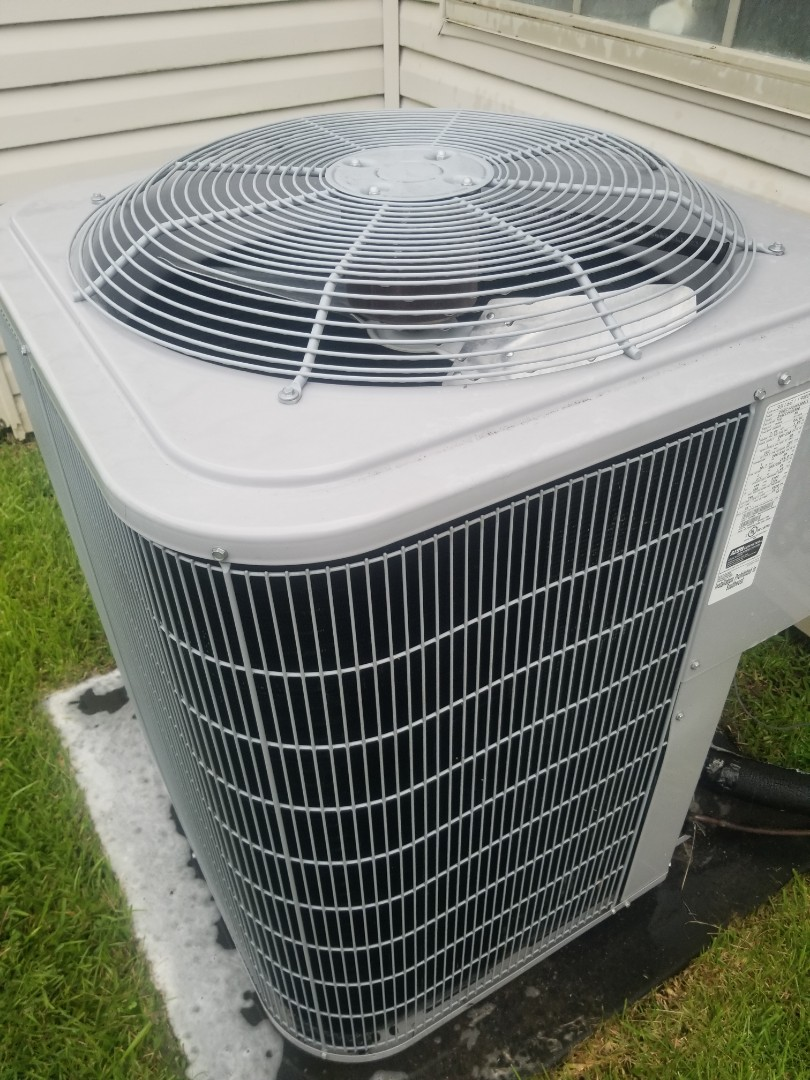 PERFORMED AC MAINTENANCE ON 2009 CARRIER SYSTEM  IN THE PLAQUEMINE AREA