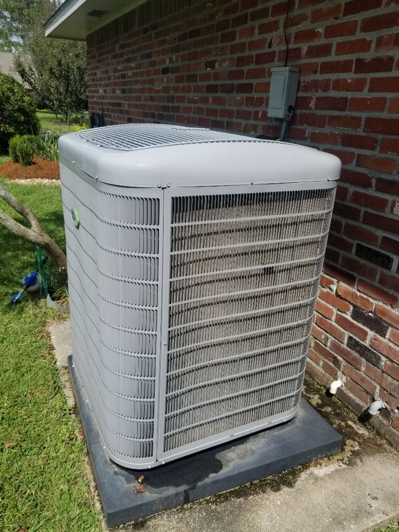Baton Rouge, LA - PERFORMED A/C MAINTENANCE ON 2017 CARRIER SYSTEM IN THE BATON ROUGE AREA