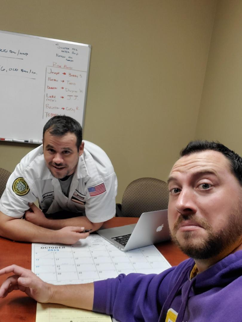 Baton Rouge, LA - Team training at One Hour Baton Rouge