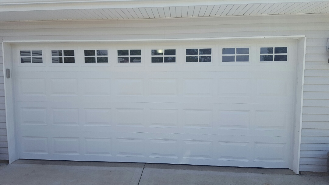 Great Ladd, IL   New 16u0027x7u0027 Insulated Garage Door With Stockton Window Designs