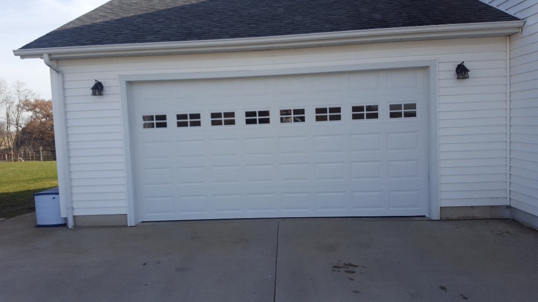 LaSalle, IL   New 16u0027x8u0027 Stihl Insulated Garage Door, Short Panel