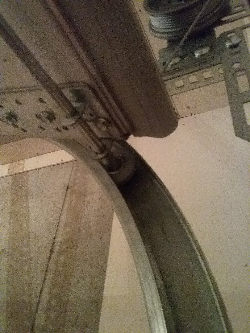 Garage door service,  Tune up door rollers and polar seal