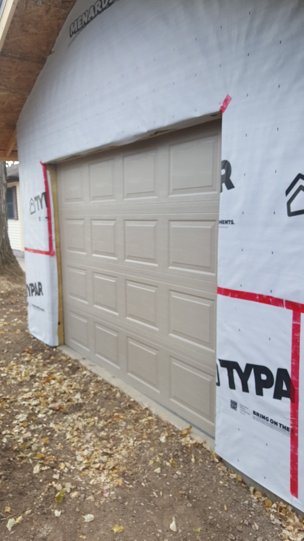 Forest Lake, MN - Jeremy install new garage door and opener
