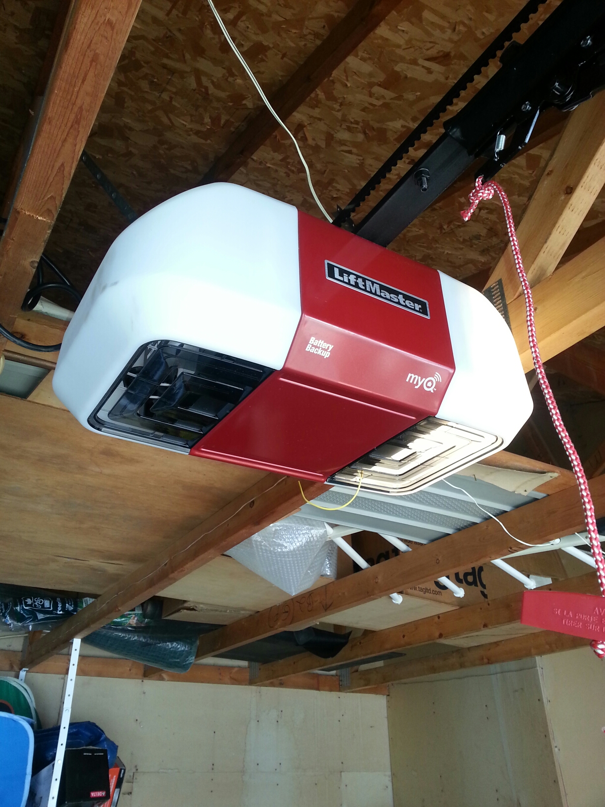Little Canada, MN - Jason installed new Liftmaster garage door opener
