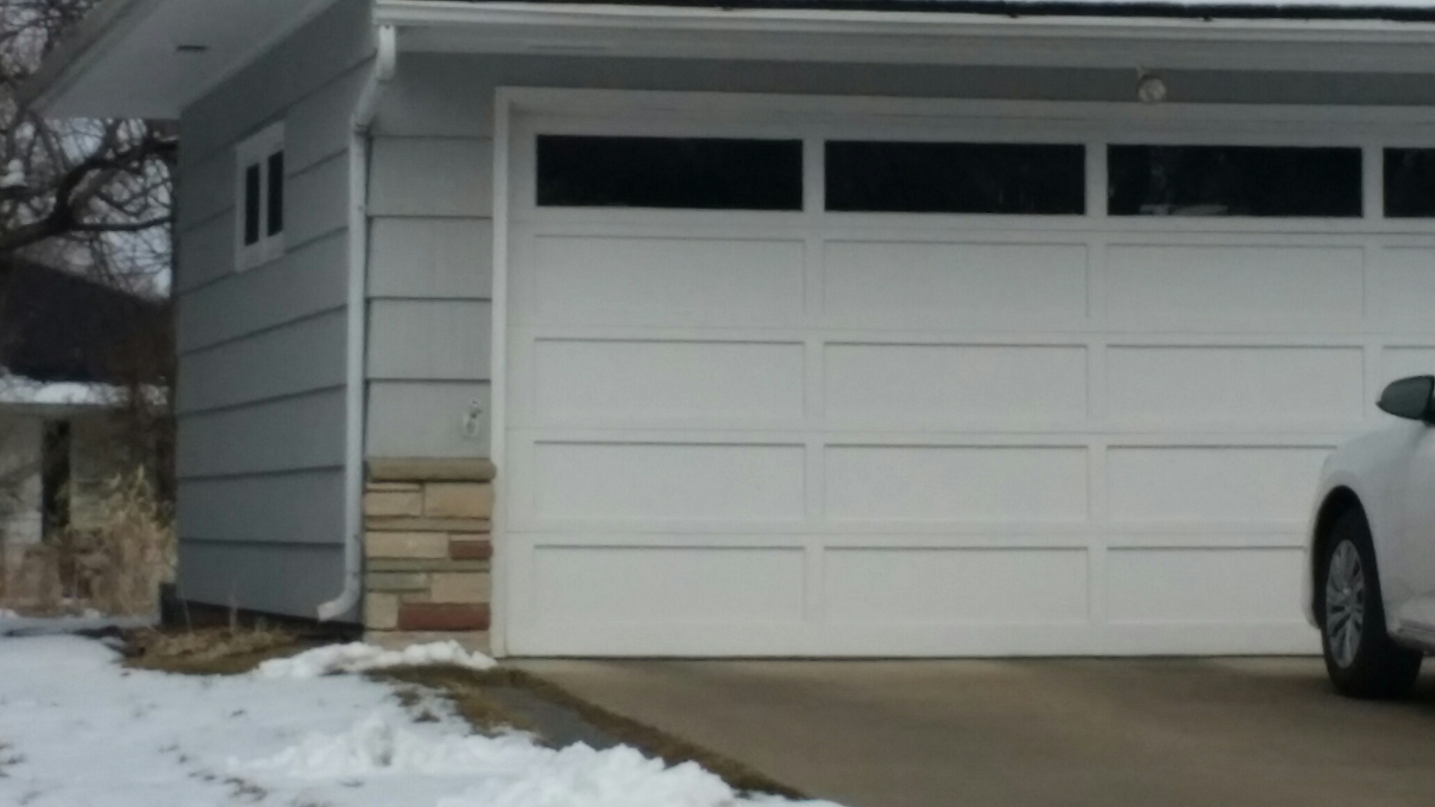 Medina, MN - Estimate for garage door replacement