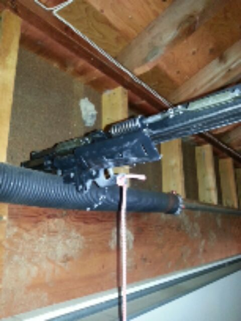 New Hope, MN - replacing a liftmaster belt drive trolley on a garage door opener