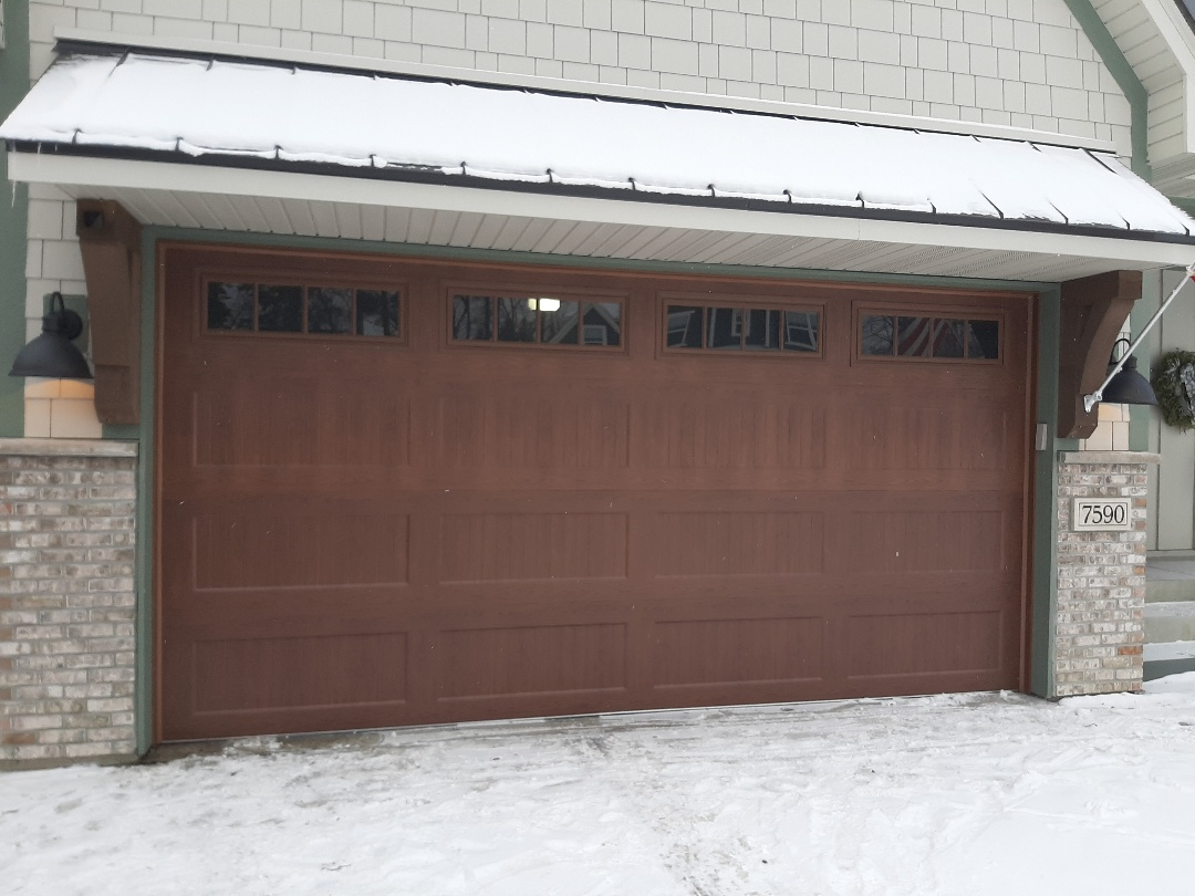 Chanhassen, MN - Jeremy installed new garage door