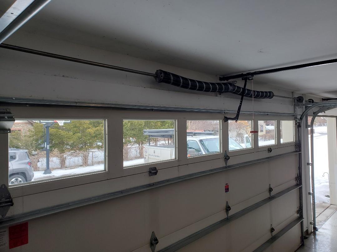 Andover, MN - Garage Door Service garage door repair broken spring replacement High Cycle Springs Shoreview Minnesota