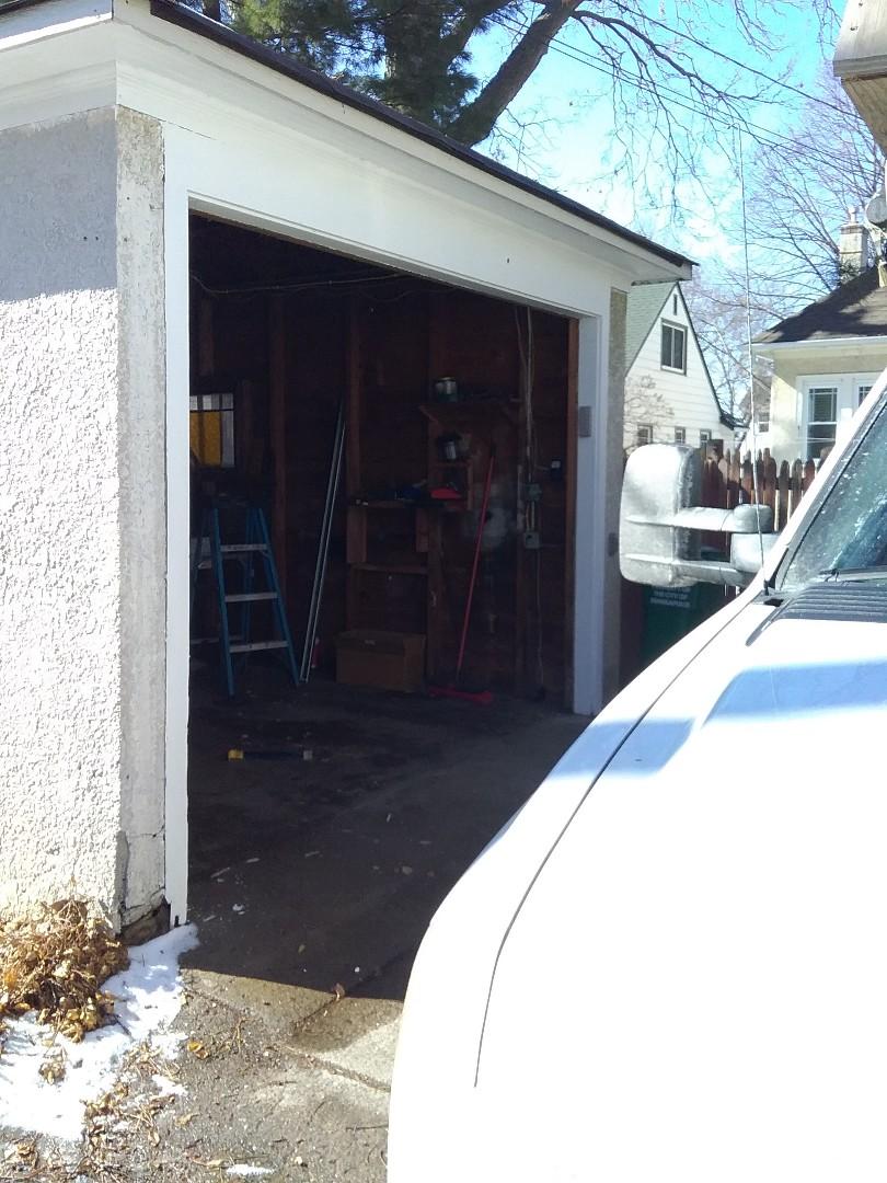 Spring Lake Park, MN - Garage door replacement