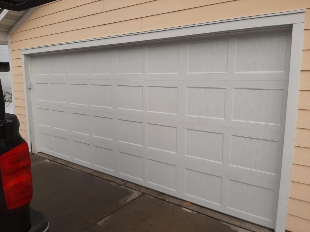 Roseville, MN - Jeremy installed new garage door, All American Door Co.