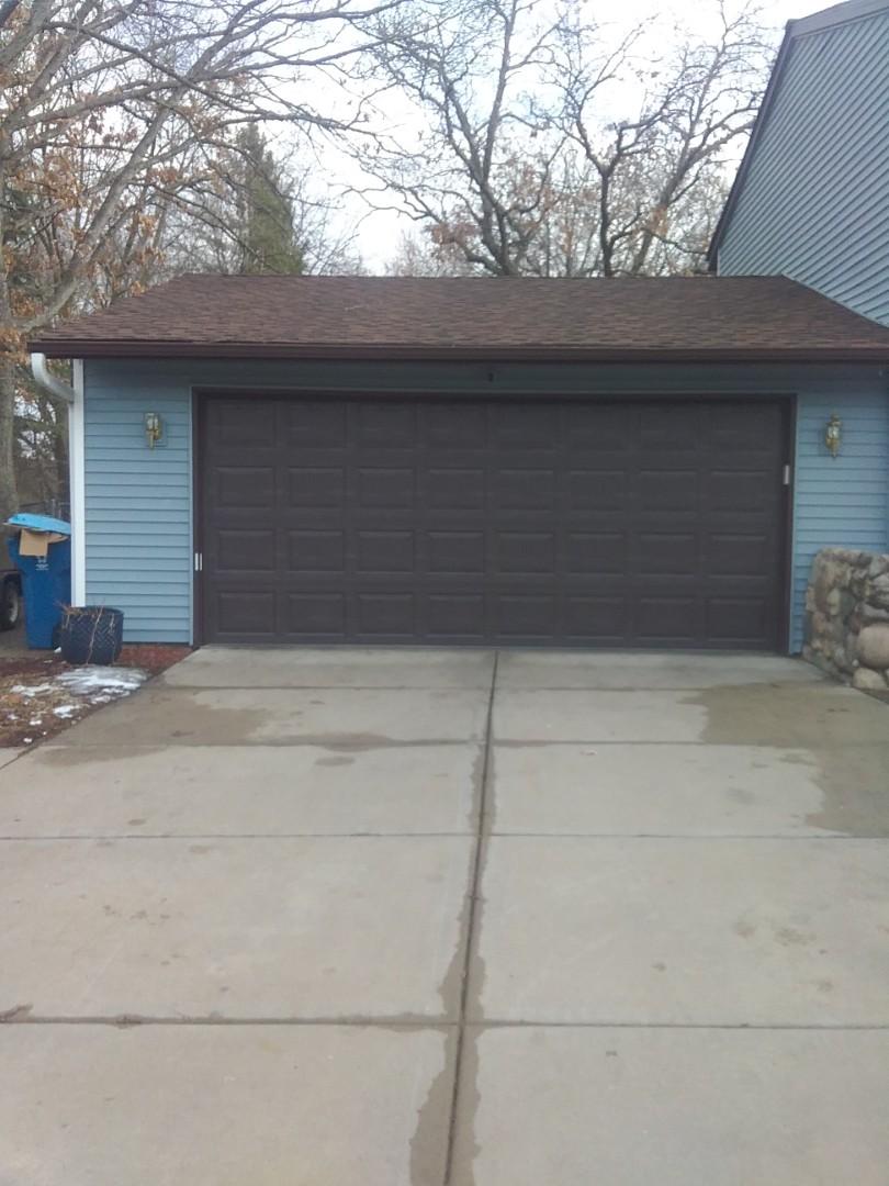Circle Pines, MN - Garage door replacement
