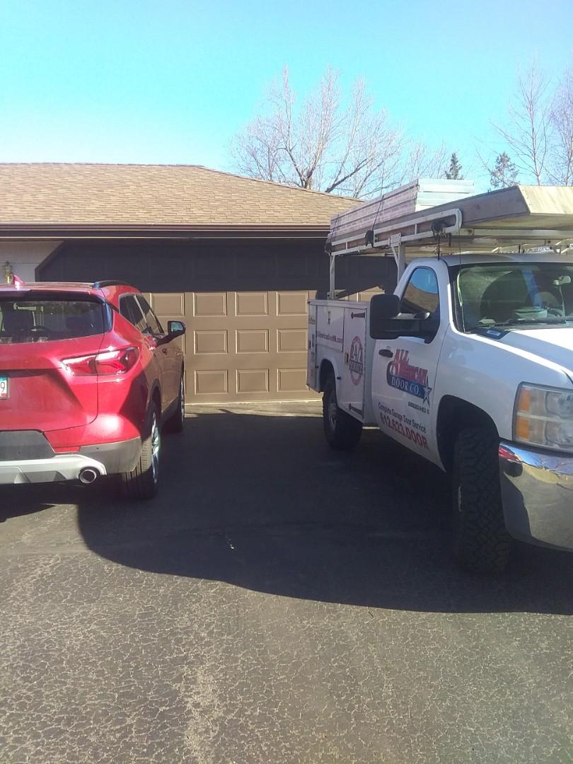 Bloomington, MN - Garage door  installation